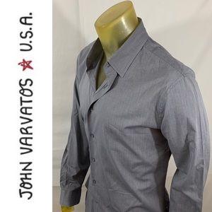 John Varvatos Slim Striped Shirt